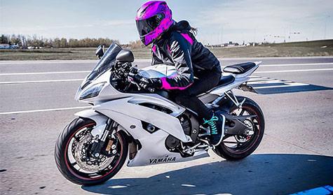موتور سیکلت برای بانوان