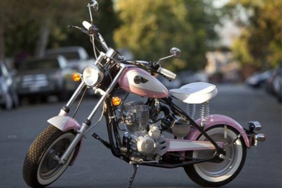 زیباترین مدل موتور برای خانم ها